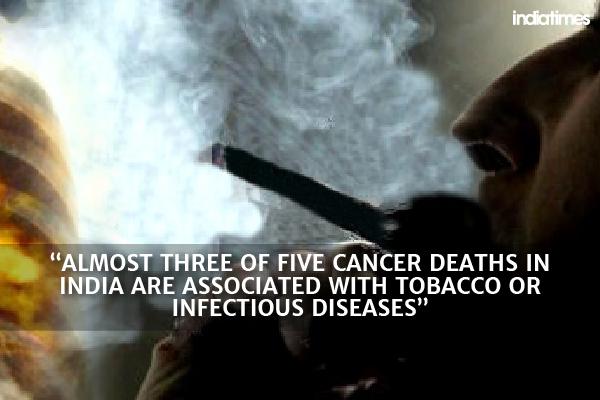 tobacco cancer india
