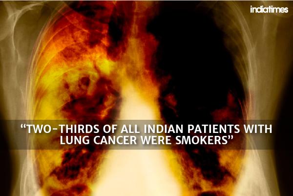 smoking cancer india