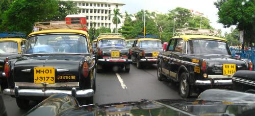 Mumbai Black and Yellow Taxi