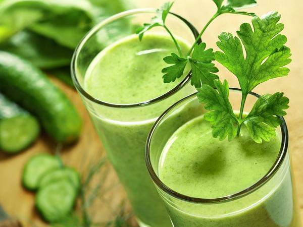Healthy Drink Recipe: Cucumber Blast