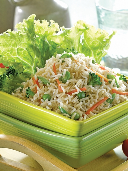 Healthy Recipe: Fried Brown Rice With Shrimp