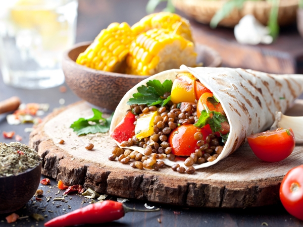 Weight Loss Recipe: Methi And Moong Sprouts Wrap