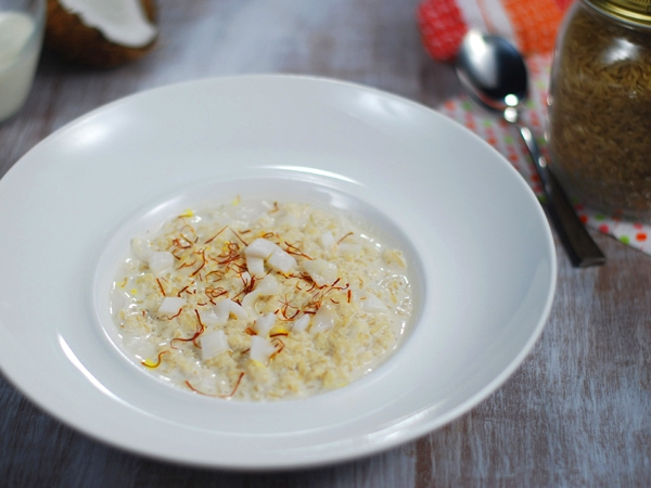Coconut And Brown Rice Payasam Recipe