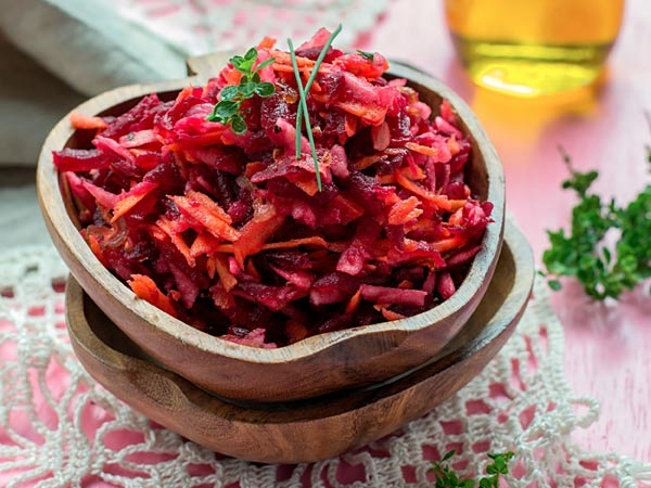 Quick & Healthy Beetroot Subzi For Your Tiffin