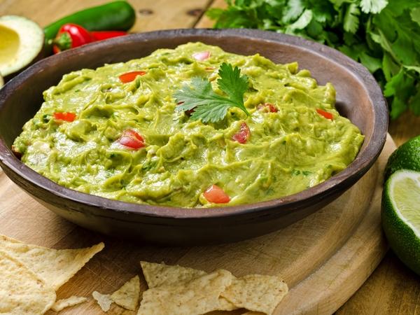 Healthy Mexican Recipe: Guacamole Dip