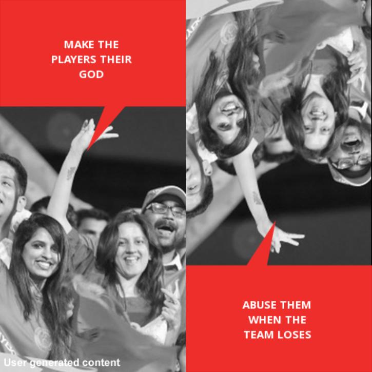 Indian sports fans Double Dholki meme