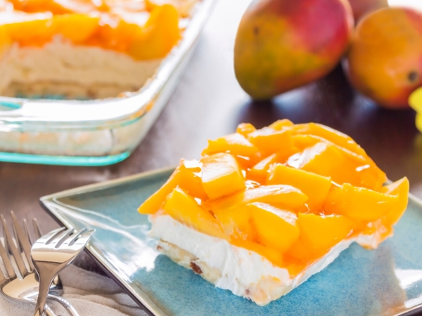 Rejoice! Here's Our Low-Calorie Mango Cheesecake Recipe