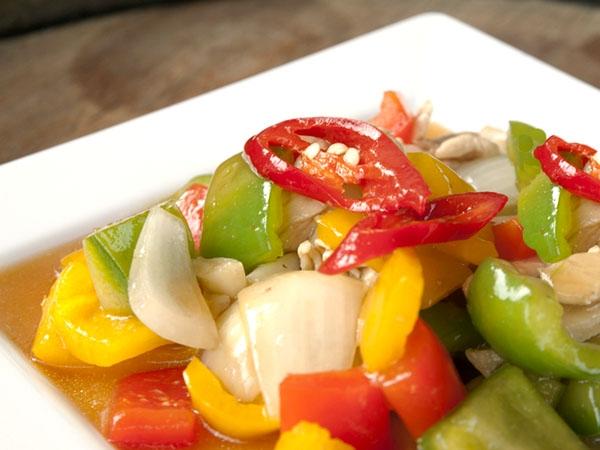Colourful Capsicum And Paneer Subzi Recipe