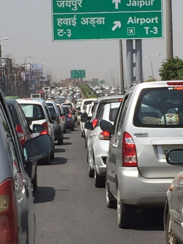 Gurgaon Toll Traffic