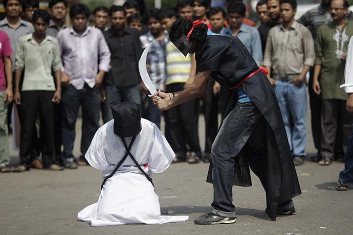 arab mock execution