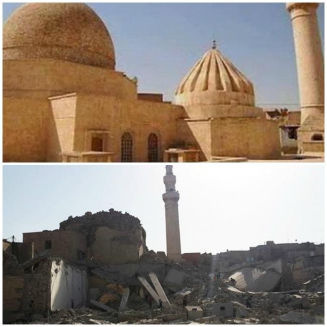 destroyed mosque Irjis