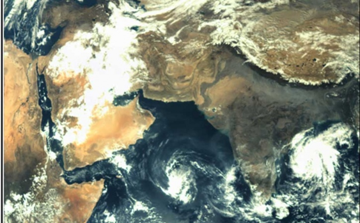 Mangalyan picture of India