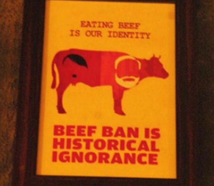 beef ban modi hiter