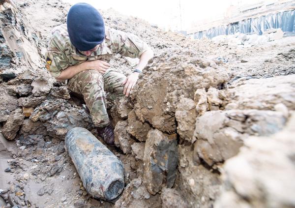 Bomb near London's Wembley