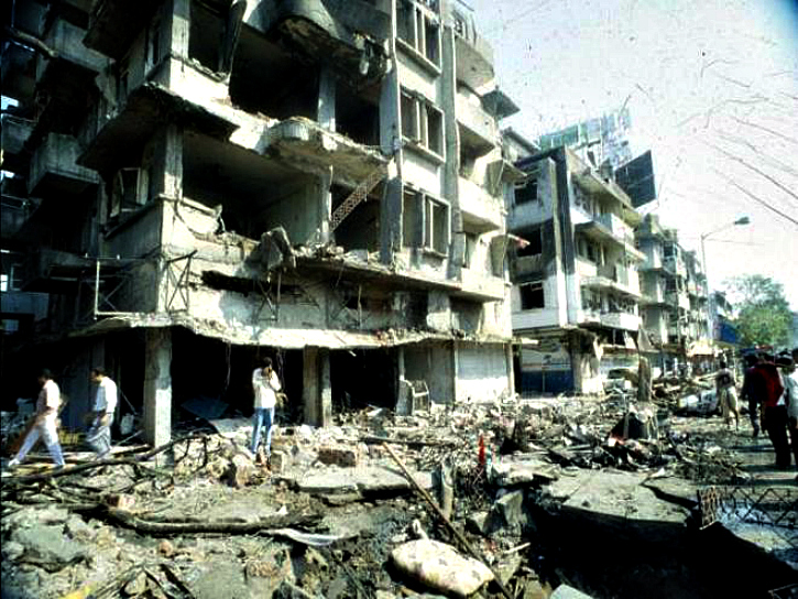 Century Bazaar at Worli was the worst affected spot in Mumbai (then Bombay) after a bomb went off in a jeep placed near the Passport Office