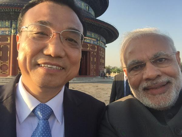 Modi li selfie