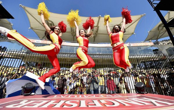 Chennai cheerleaders