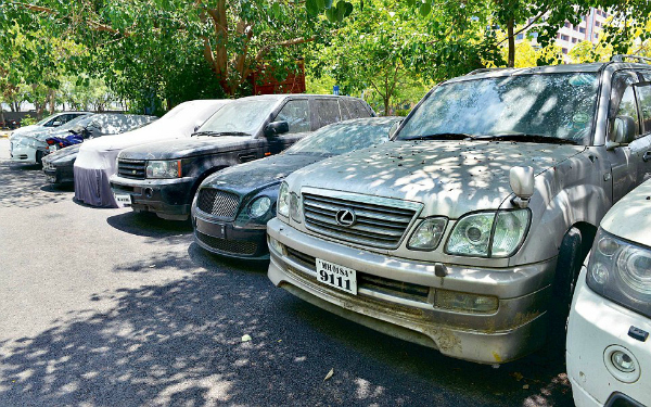 cars at DRI