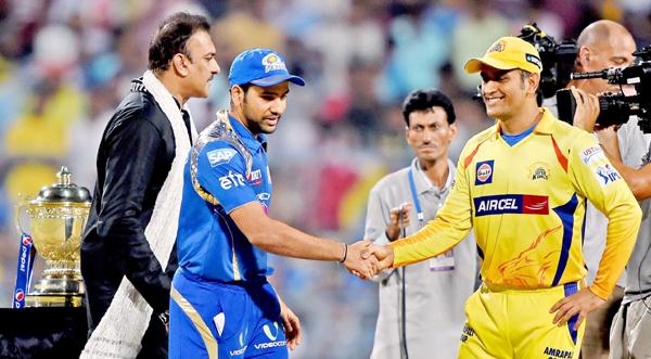 Ravi Shastri at the toss