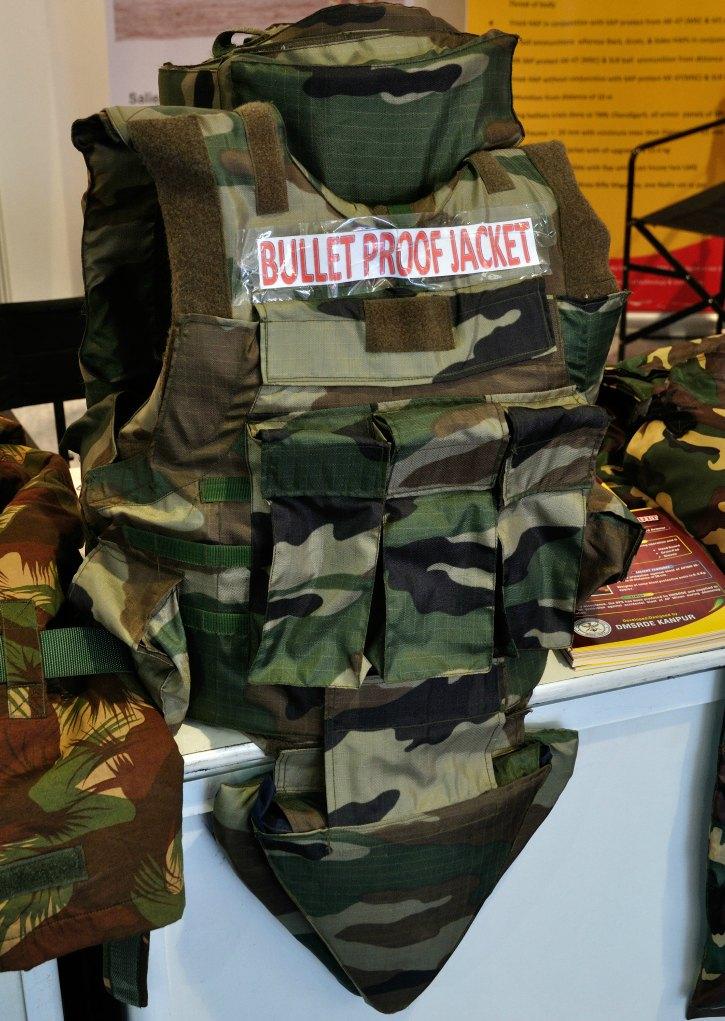 bullet proof vest drdo