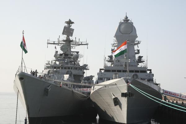 INS Delhi & Kolkata