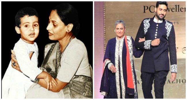 Abhishek Bachchan & Jaya Bachchan