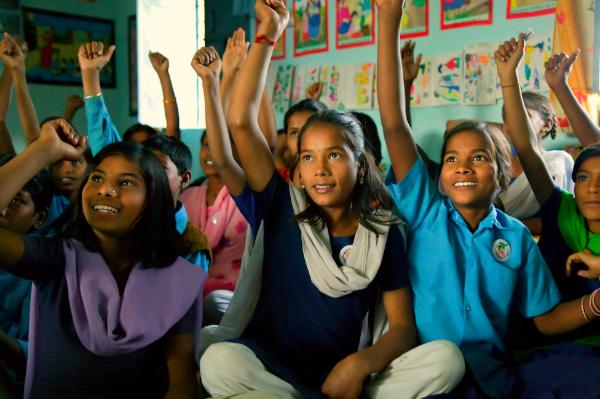 girl study india