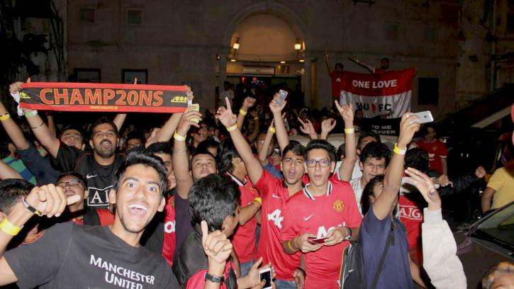 Manchester United Fans Delhi