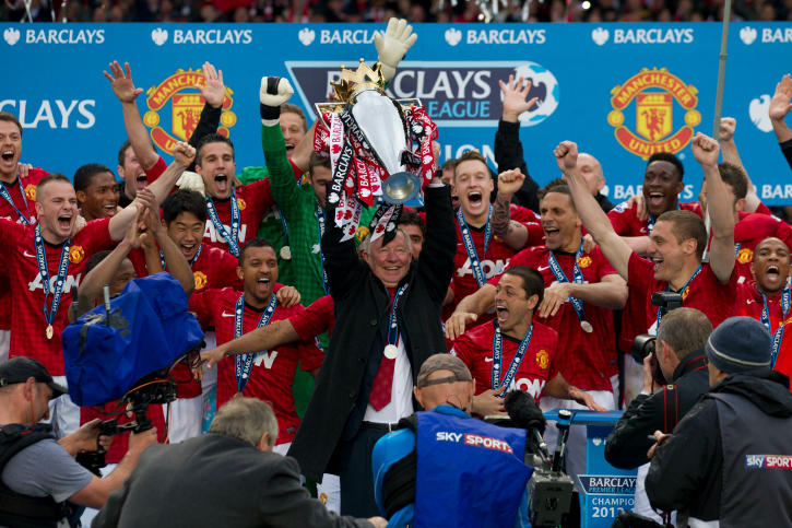 Manchester United BPL champions 2013