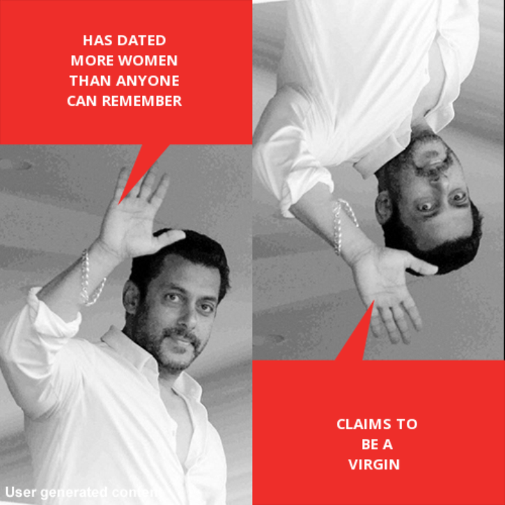 Salman Khan Double Dholki meme