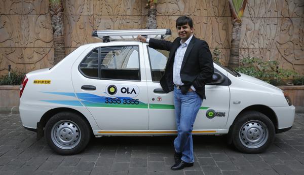 Ola CEO Bhavish Aggarwal
