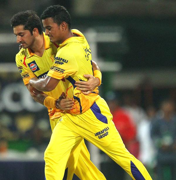Pawan Negi with Mohit Sharma