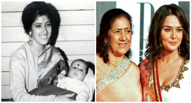 Preity Zinta & Nilprabha Zinta