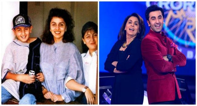 Ranbir Kapoor & Neetu Kapoor