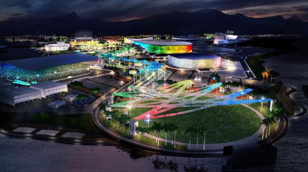 Rio Olympic Park design