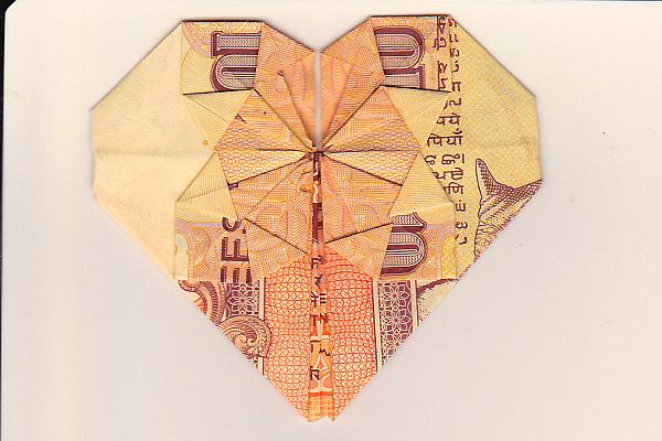 rupee heart