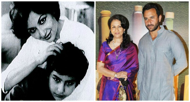 Saif and Sharmila Tagore