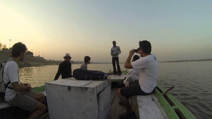 Sailing on Ganga