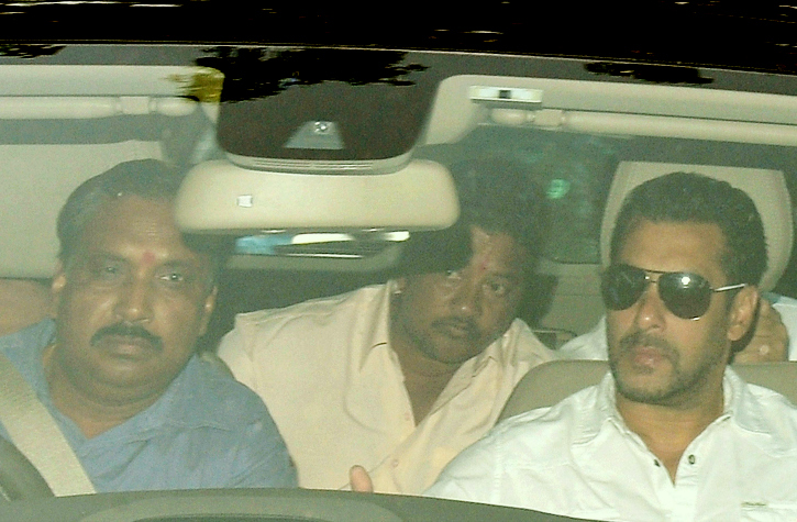 Salman goes to court
