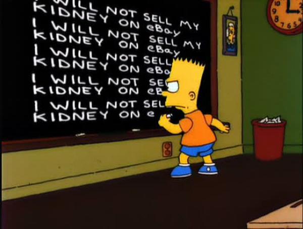 Simpsons kidney