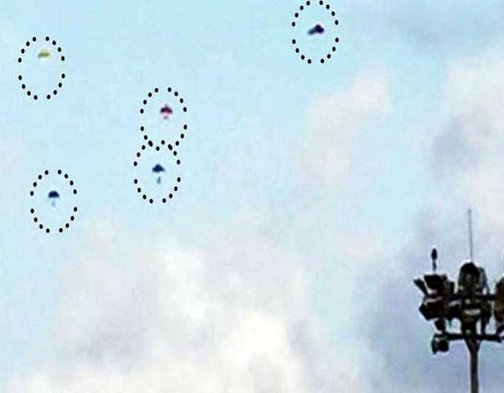 UFOs over Mumbai airport