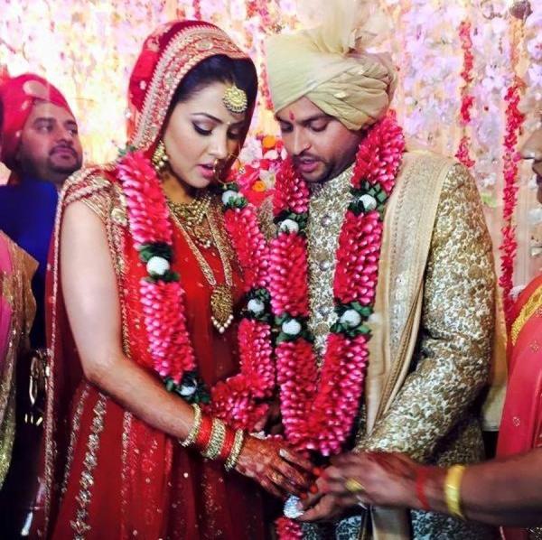 Suresh Raina marries Priyanka