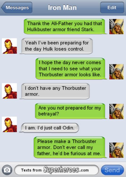 Superhero Text