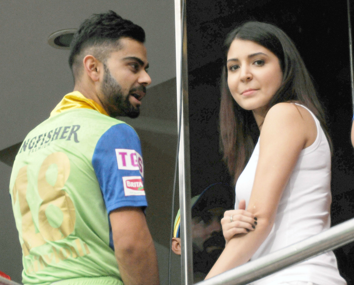 Virat Ignores Code Of Conduct To Chat Up Anushka. Haters Throw The Rule Book At Him