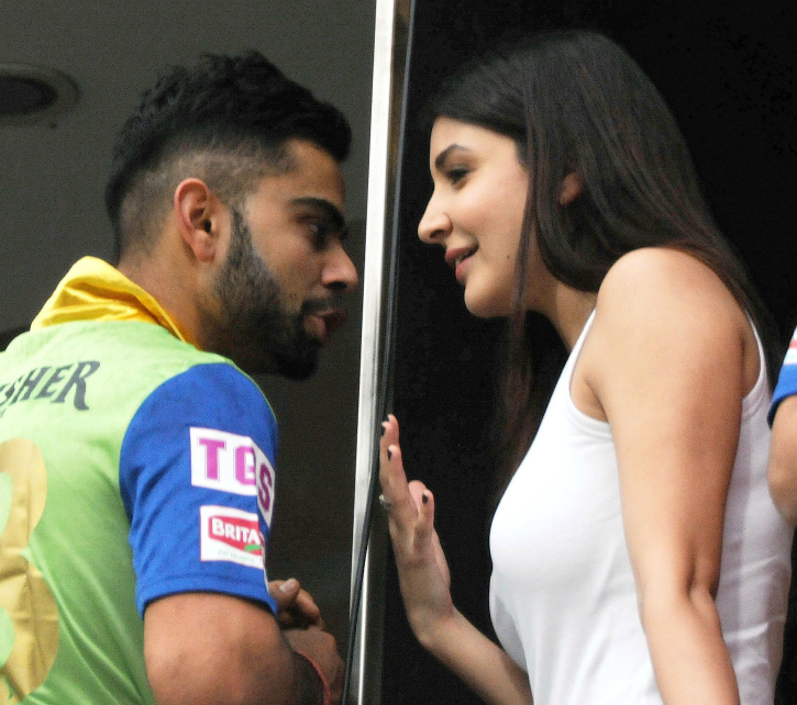 Virat Ignores Code Of Conduct To Chat Up Anushka. Haters Throw The Rule Book At Him!