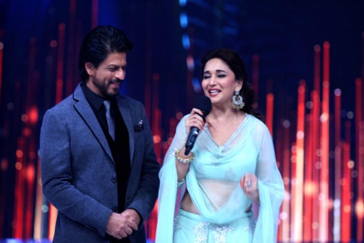 SRK and Madhuri