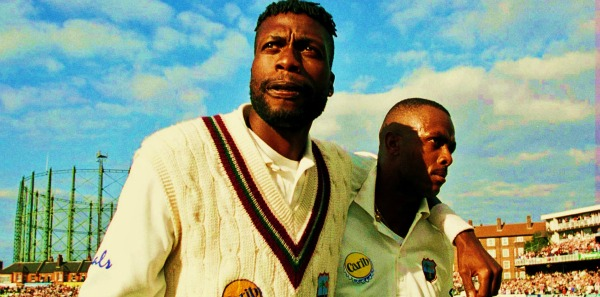 Courtney Walsh and Curtly Ambrose