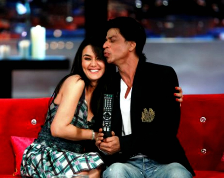 SRK and Preity Zinta