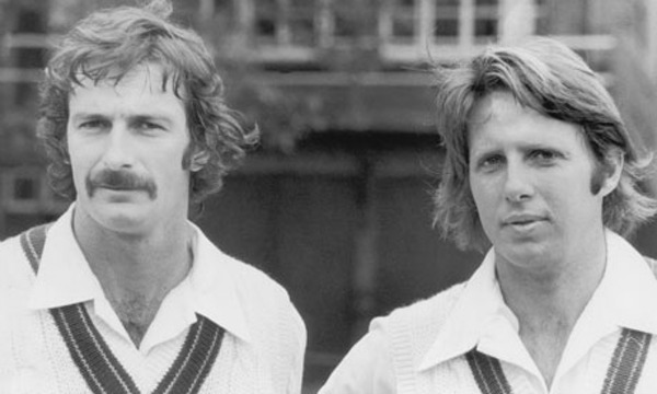 Dennis Lillee and Jeff Thomson