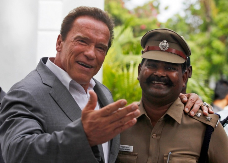 arnold in india